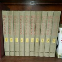 """Grolier """"The Book of Popular Science"""" - Complete 10 Volumes Set 1962"""