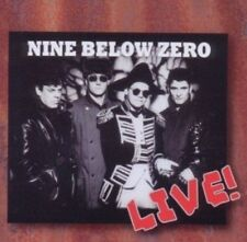 Nine Below Zero Live In Europe 1992 CD NEW SEALED Don't Point Your Finger+