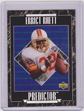 1995 UPPER DECK ERRICT RHETT PREDICTOR REDEEMED CARD #RP17