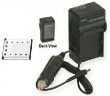 Battery + Charger for Casio EX-Z33 EX-H5BK EX-S8BE EX-S8BK EX-S8PE EX-S8PK
