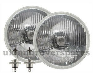 7 INCH ROUND RHD HEADLIGHT HALOGEN CONVERSION KIT - COMES WITH H4 BULBS