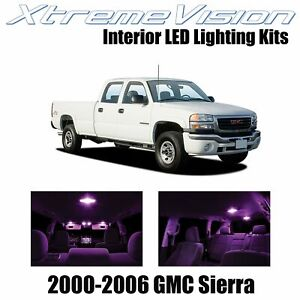 XtremeVision Interior LED for GMC Sierra2000-2006 (16 PCS) Pink