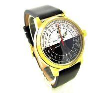 Sputnik 1957 mens watch Day & Night  Original Petrodvorets movement 24 Hours