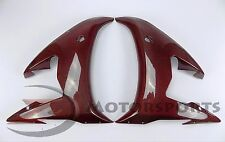 2003-2005 R6 2006-2009 R6S Front Side Radiator Cowl Fairing Carbon Fiber Red