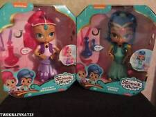Fisher-Price Shimmer And Shine Wish and Spin Shimmer & Shine Doll Lot of 2