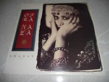 "Shaday ""Ofra Haza"" 1988 LP w/inner Promo Synth-Pop Oz WEA 2438451 NM"
