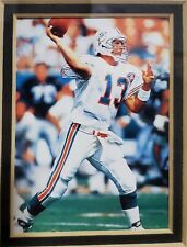 """1995 Dan """"The Man"""" Marino Tribute Painting  Trading Card Miami Dolphins NFL"""