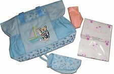 Large Baby Changing Bag Nappy Diaper Bags Fully Padded Designer Baby Boys Blue