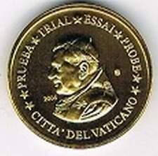 Vaticaan 2006 (Gr) probe-pattern-essai - 20 eurocent - Paus Benedictus XVI