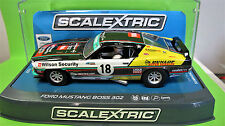 "Scalextric  Ford Mustang  N° 18 "" Boss 302 ""    Ref. C3728"