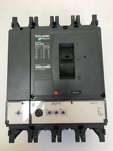 SCHNEIDER  630a MCCB 4 POLE NSX630N 2.3 MICROLOGIC LV432894 (SS)