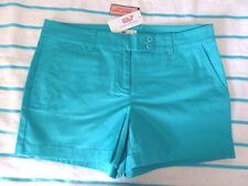 VINEYARD VINES  Ladies Solid Classic Dayboat Shorts    FJORD  Sz 8   NWT $65