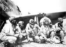 Tuskegee Airmen-African American Military Pilots in Italy-Large 11x15+ Photo