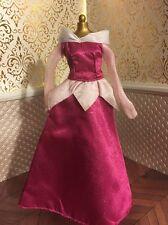 Aurora Pink Dress Glitter Disney Doll Wardrobe Sleeping Beauty Princess