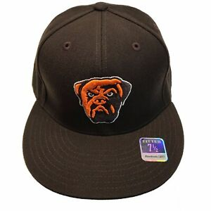 Cleveland Browns Reebok Dog Pound Swagger Flat Bill 7 1/2 Fitted Cap Hat $25
