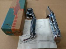 1964 Chevelle NOS front bumper guards in GM box w/instructions 985830