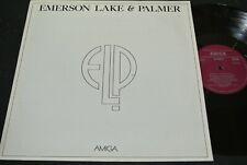 EMERSON LAKE & PALMER same / DDR 1C/2A MATRIX Compilation LP 1980 AMIGA 855724