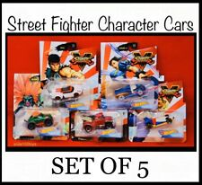 Hot Wheels Character Cars Street Fighter V Gaming Series Set Of 5 In Stock 2020