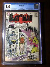 Batman #121 (1959) - 1st Mr. Freeze! - CGC 1.0 - Key!