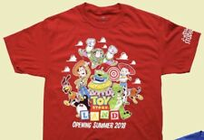 Disney Toy Story Land Adult Unisex Opening Day T-Shirt S M L XL XXL NWT