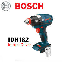 """BOSCH IDH182 18 V EC Brushless Impact with 1/4"""" Hex and 1/2"""" Square Drive"""