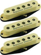 Seymour Duncan California 50's SSL-1 Single Coil Strat 3 Pickup Set Cream Covers