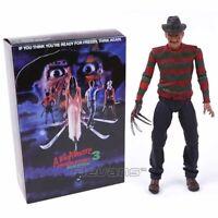 Freddy Krüger Figur A Nightmare on Elmstreet 3 NECA Action Sammler Film Figuren