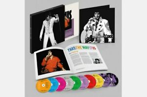 Elvis That's The Way It Is DELUXE EDITION 8 CD + 2 DVD BOX SET NEW thats No LP