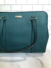 Kate Spade Tote Bag Large Teal Green