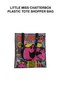 Little Miss Chatterbox Plastic Tote Shopper Bag