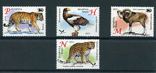 Belarus 2013 MNH Zoos in Belarus 4v Set Fauna Animals Birds Eagles Tigers Stamps