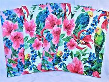 50 10x13 Designer Tropical Flower Parrot Pack Mailers Poly Shipping Envelope Bag