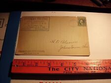 1912 MINSTREL The SOUTHERN THEATRE Columbus Ohio News Bureau Johnstown Ticket