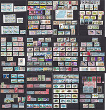Bermuda. Large collection on 12 stockcards. Many unmounted/mounted mint.