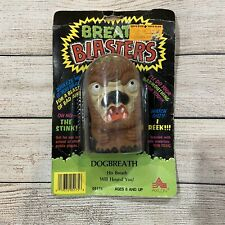 "Breath Blasters ""dog Breath"" Figure 1986 Axlon in Package"