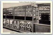 Eckerd's Pharmacy Modern Prescription Counter Columbia, South Carolina Postcard