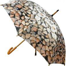 Regenschirm - Stockschirm - Kaminholz - Holzscheite Motivschirm Schirm