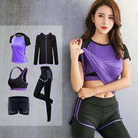 Women's Yoga Running Climbing Outdoor Gym Bra & T-shirts & Pants & Jackets Suits