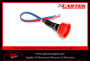 Cartek External Fire Extinguisher/Battery Kill Switch/Button - Race/Rally