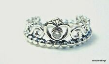 NEW/TAG  AUTHENTIC PANDORA SILVER RING MY PRINCESS #190880CZ  MULTIPLE SIZE