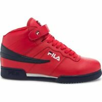 MEN'S FILA F-13V LEA/SYN RED/WHT/NAVY