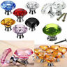 40mm 50mm Diamond Crystal Glass Door Drawer Cabinet Wardrobe Pull Handle Knobs