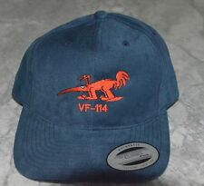 USN VF-114 or VFA-114 Aardvarks Embroidered Squadron Logo Hat