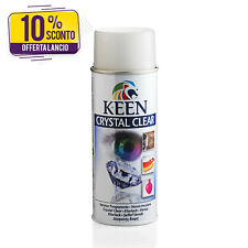 Vernice speciale spray trasparente lucida CRYSTAL CLEAR NITRO Keen Color 400ml