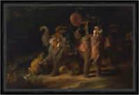 Tiger Hunting in the East Indies Thomas Daniell Tiger Jagd Indien Faks_B 00139