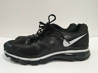 P378 MENS NIKE AIR MAX FITSOLE2 BLACK LACE UP TRAINERS UK 10 EU 45 US 11
