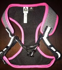Top Paw Comfort Adjustable Dog Harness Size: Small Pink Reflective #1567