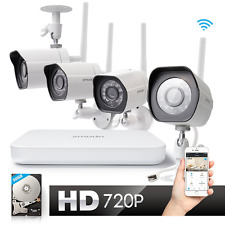 Zmodo Wireless Indoor Outdoor Smart Home Security Camera System 4CH NVR System 5
