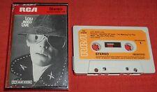 LOU REED - ORIGINAL 1975 RCA UK CASSETTE TAPE - LOU REED LIVE - PAPER LABELS