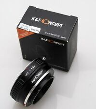 USA K&F Concept MD-NEX Adapter Minolta MD to Sony NEX E Mount Adapter (KF06.073)